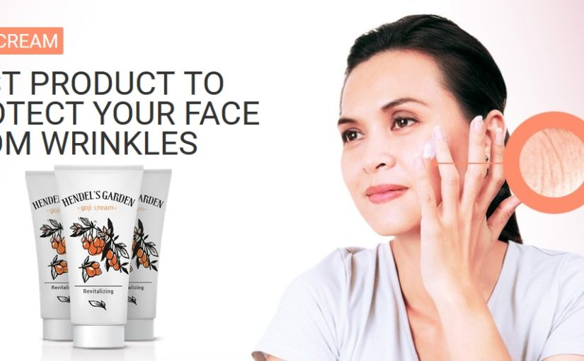 Goji Cream - Best product to protect your face from wrinkles